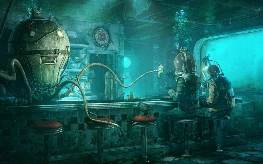 Подводный бар