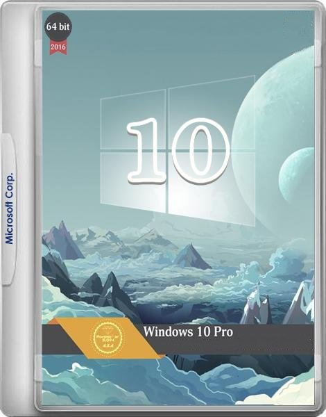 Windows 10 Pro x64 by kuloymin v2.2 (esd) [Ru]