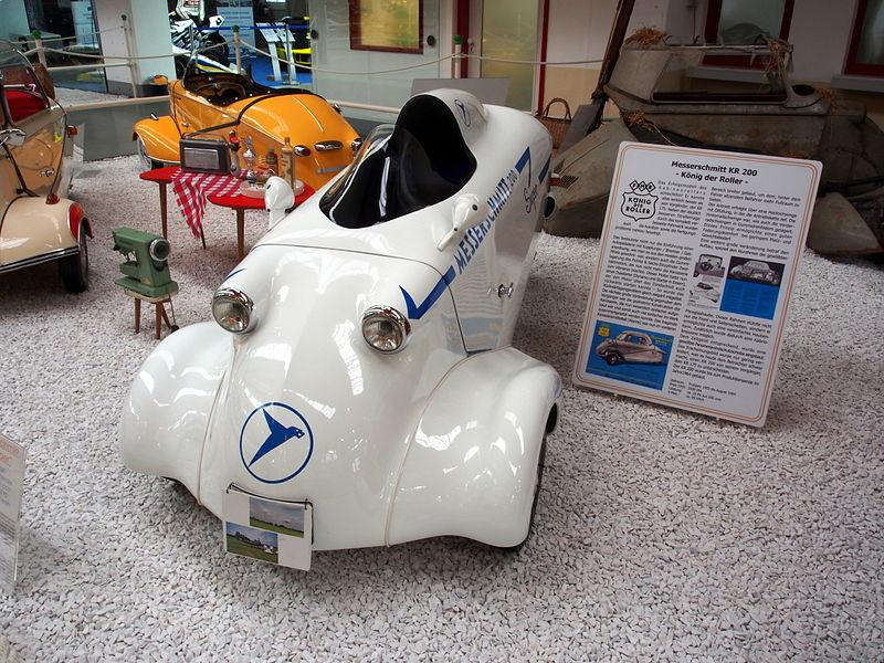 Messerschmitt KR200 или Kabinenroller