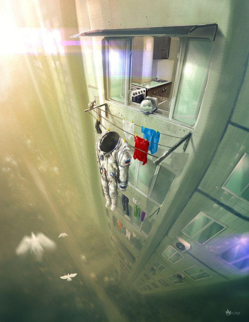 Профессия астронавт