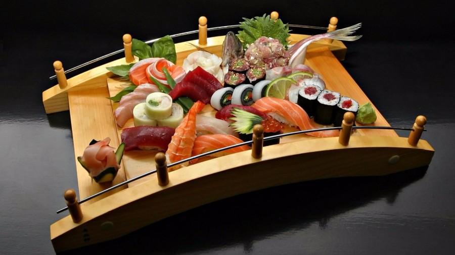 Сервировка еды по-японски