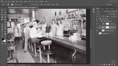 Pluralsight - Restoring Old and Damaged Photos in Photoshop 2016 TUTORiAL