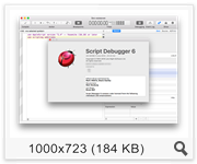 Script Debugger 6.0 (6A169) (2016) Eng
