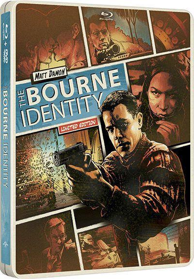 Борн: Трилогия / The Bourne: Trilogy (2002 / 2004 / 2007) DTS 5.1 [Dub] [Hand Made]