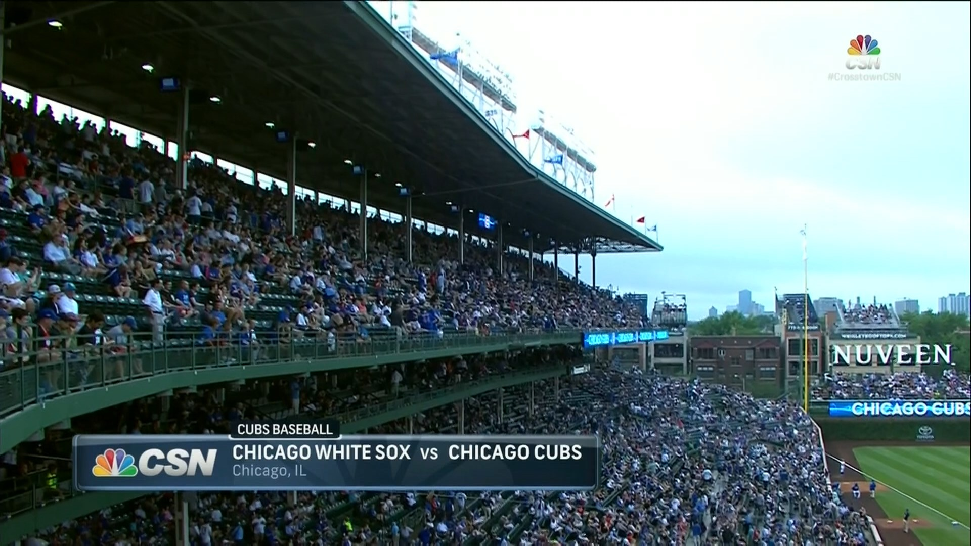 MLB 2016 / IL / RS / 28.07.2016 / Chicago White Sox @ Chicago Cubs (2 / 2) [Бейсбол, HD / 1080i, MKV / H.264, RU-EN / Viasat Sport]