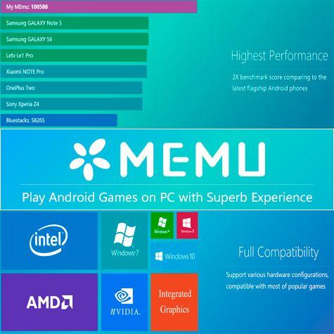 MEmu 2.8.2 (x86-x64) (2016) Multi/Rus