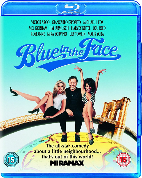 С унынием в лице / Blue in the Face (1995) BDRip 720p | P, A