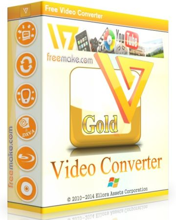 Freemake Video Converter 4.1.9.40 RePack by CUTA (x86-x64) (2016) Multi/Rus