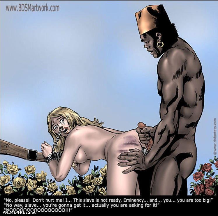 Zanzibar Slave Market / Невольничий Рынок Занзибара [Uncen] [ENG] Porno Comics