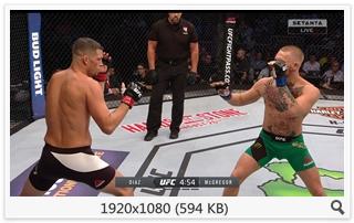 MMA. UFC 202. Nate Diaz vs Conor McGregor 2 [20.08] (2016) HDStr 1080i (RU/ENG)