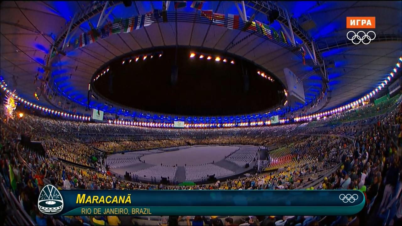 XXXI Летние Олимпийские Игры 2016. Церемония закрытия (2016) WEB-DL 720p