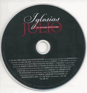 Julio Iglesias - The Golden Hits [4CD Box Set] (2011)