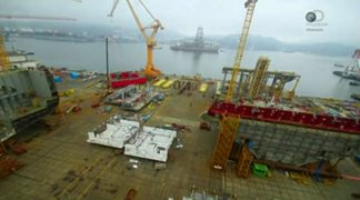 Discovery. Строители кораблей-гигантов / Worlds Biggest Shipbuilders [01-06 из 06] (2016) HDTVRip от HitWay | P2