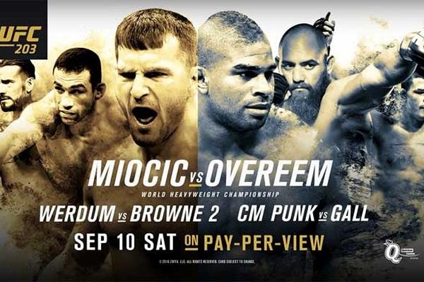 Смешанные единоборства. UFC 203: Miocic vs. Overeem. Main Card [10.09] (2016) HDTVRip 720p | 50 fps