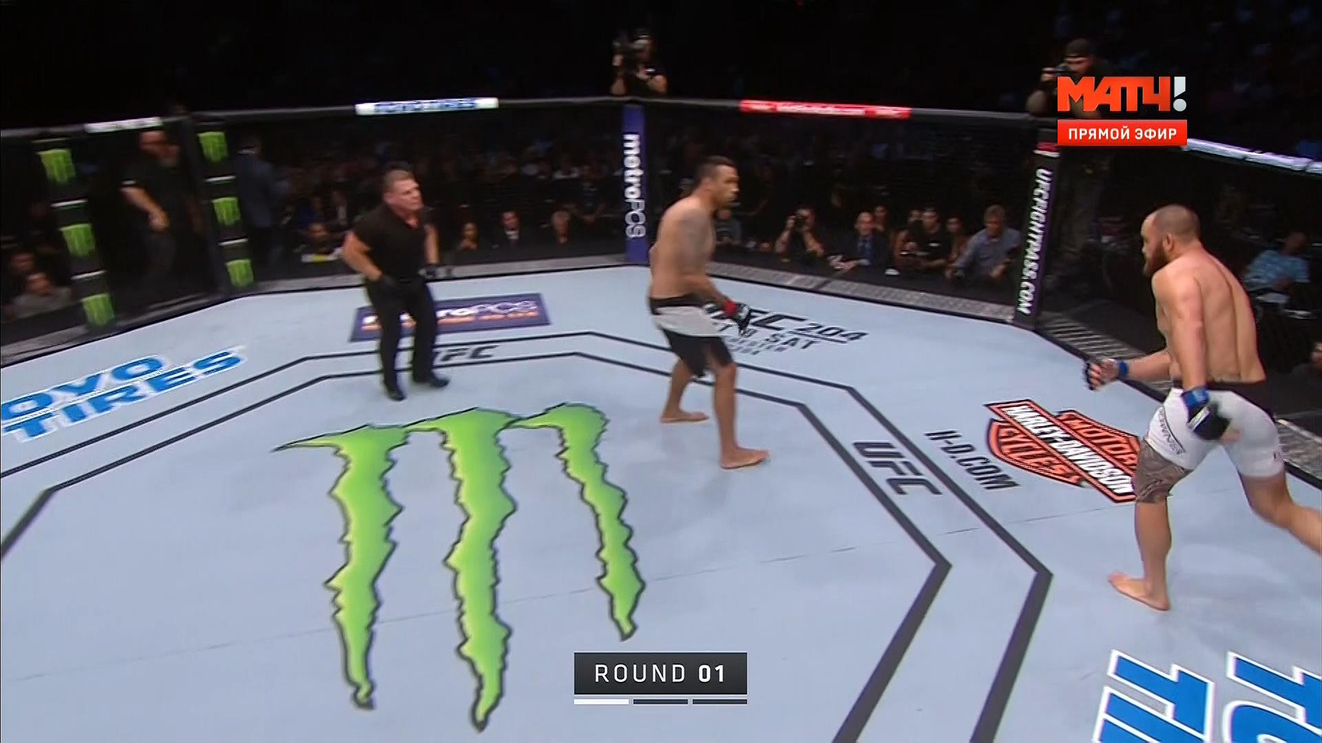 Смешанные единоборства. UFC 203: Miocic vs. Overeem. Main Card [10.09] | HDTV 1080i