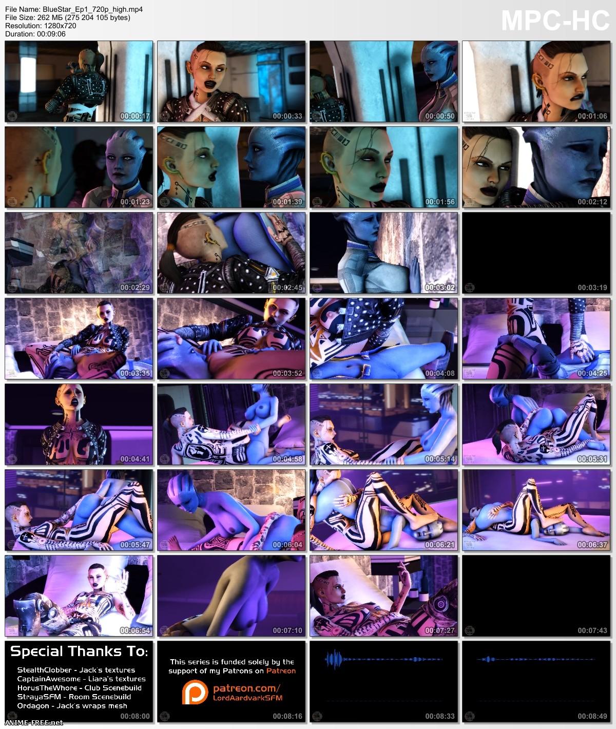 Blue Star (Episode 1-2) [2016] [Uncen] [720p] [ENG] 3D-Hentai