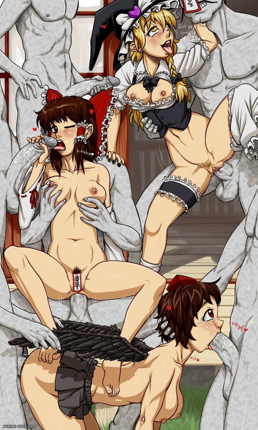 Spidu (Collection) - сборник картинок [Uncen] [JPG,PNG] Hentai ART