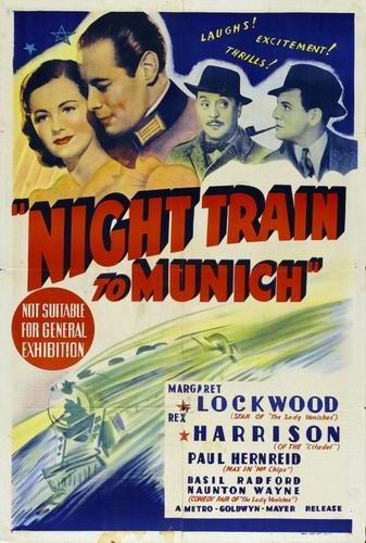 Ночной поезд в Мюнхен / Night Train to Munich (Кэрол Рид / Carol Reed) [1940, Великобритания, триллер, BDRip] AVO (Визгунов) + Sub Eng + Original Eng
