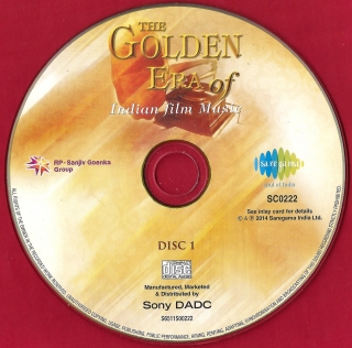 Folk, Indian) [10хCD] VA - The Golden Era Of Indian Film