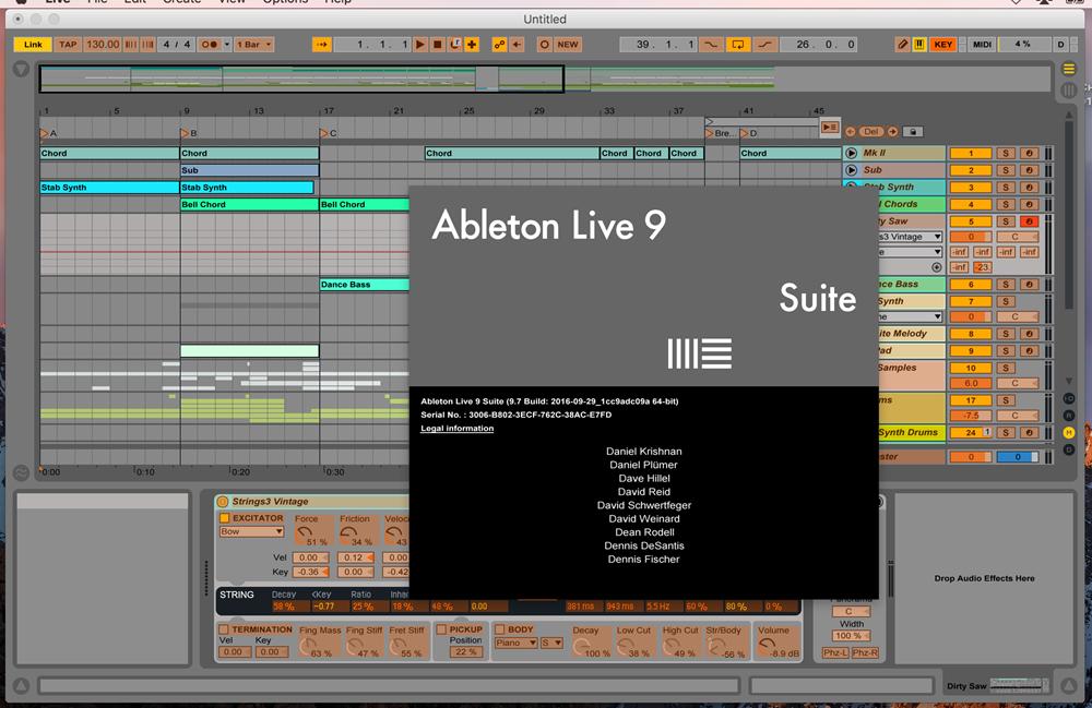 ableton live suite 9 скачать