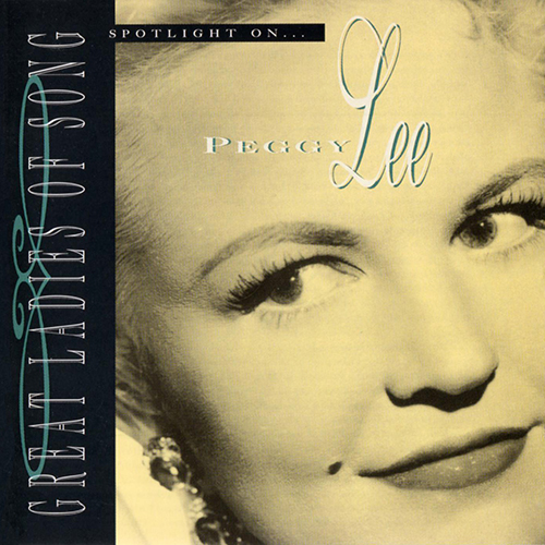 (Vocal Jazz) [CD] Peggy Lee - Spotlight On... Peggy Lee - 1995, FLAC (tracks+.cue), lossless