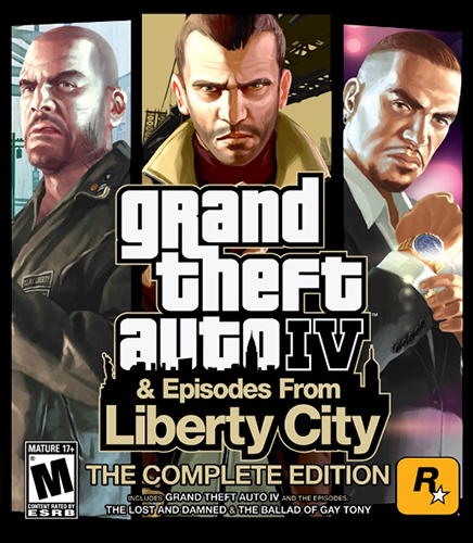 GTA 4 / Grand Theft Auto IV - Complete Edition [v 1070-1120] (2010) PC | Repack от xatab