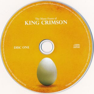 King Crimson - The Many Faces Of King Crimson [3CD] (2016)