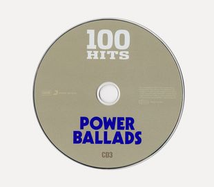 100 Hits - Power Ballads [5CD] (2016)