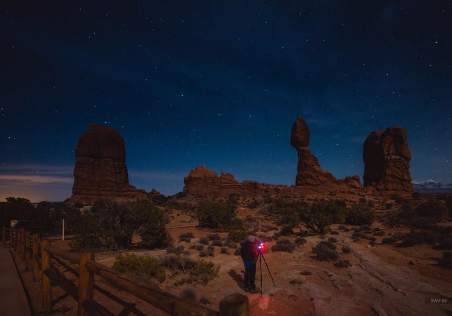 Ночная пустыня