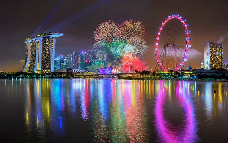 Такой яркий Сингапур