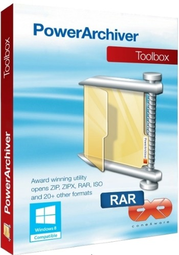 PowerArchiver 2016 16.10.24 RePack by D!akov [Multi/Ru]