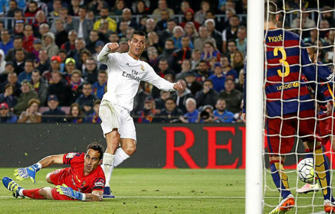 "Роналду: ночной кошмар ""Барселоны"" на ""Камп Ноу"""
