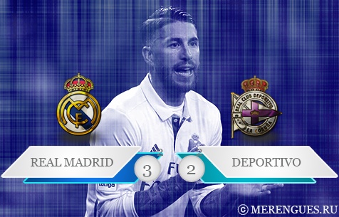 Real Madrid C.F. - RC Deportivo La Coruna 3:2