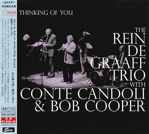 (Post-Bop, West Coast Jazz) [CD] The Rein De Graaff Trio with Conte Candoli & Bob Cooper - Thinking Of You (1993) - 2015 {CDSOL-6417}, FLAC (tracks+.cue), lossless
