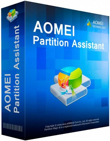 AOMEI Partition Assistant Professional | Server | Technician | Unlimited Edition 6.1 RePack by D!akov (x86-x64) (2016) Multi/Rus