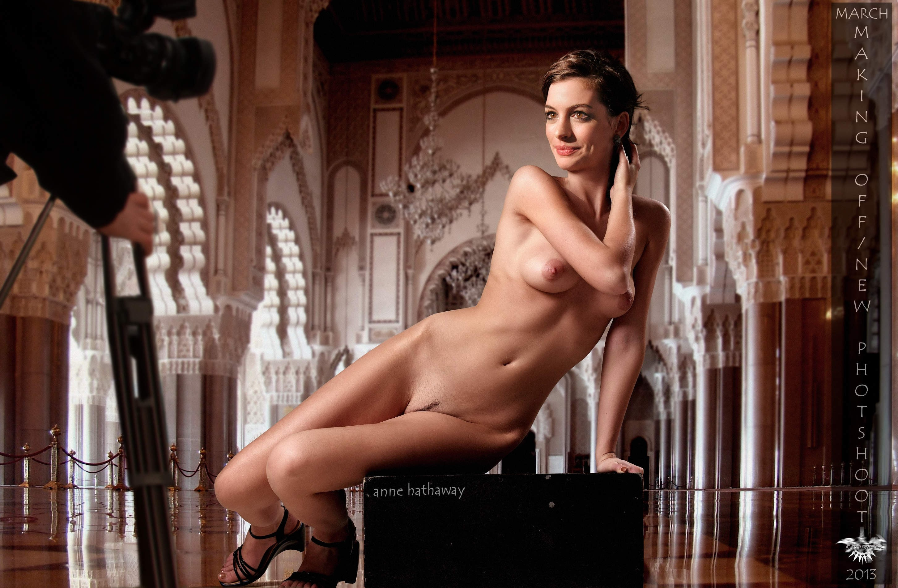 Anne hathaway naked with a man — photo 13