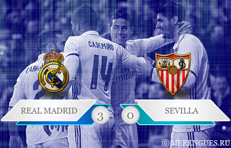Real Madrid C.F. - Sevilla FC 3:0