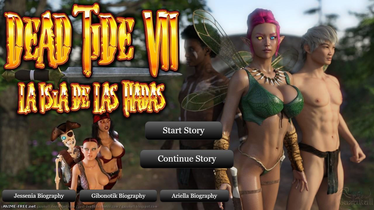 Dead Tide VII: La Isla de las Hadas [2016] [Uncen] [3DCG, Animation] H-Game