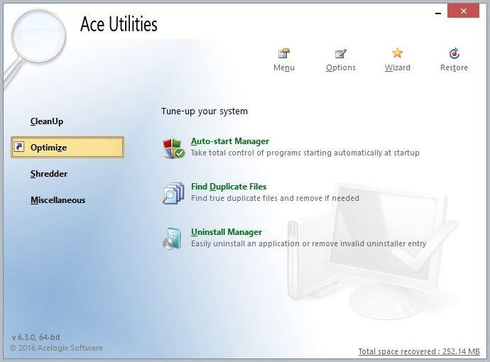 Ace Utilities 6.3.0 Build 292 (2017) Английский