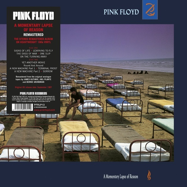Pink Floyd - A Momentary Lapse of Reason [Mastered from the Original Master Tapes] (2017) WavPack