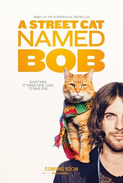 Уличный кот по кличке Боб / A Street Cat Named Bob (2016) WEB-DLRip