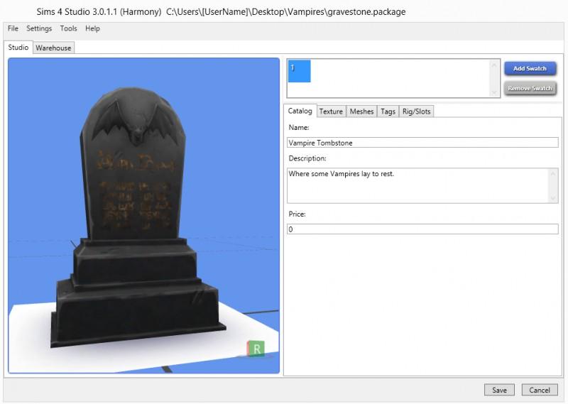 Удаление ненужных перекрасок из файлов с помощью sims 4 studio.