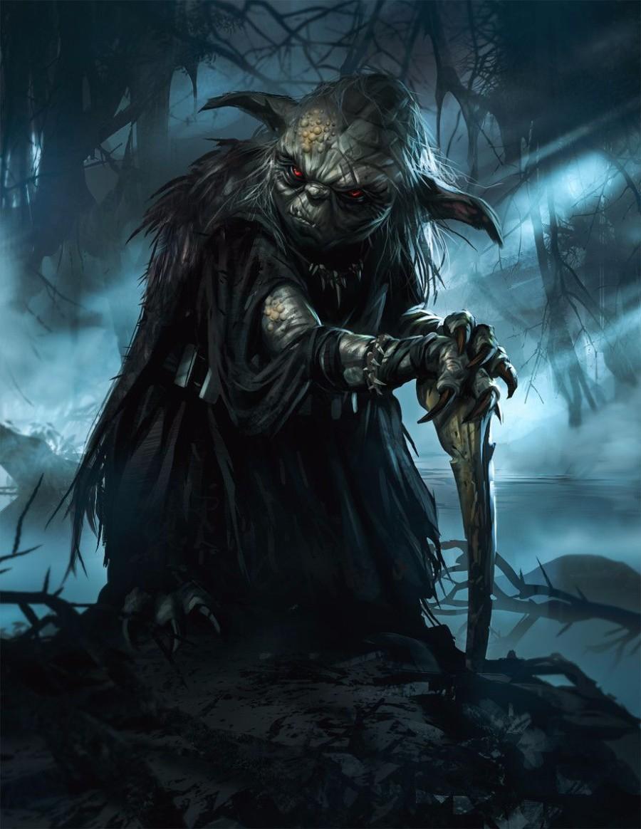 Йода на темной стороне