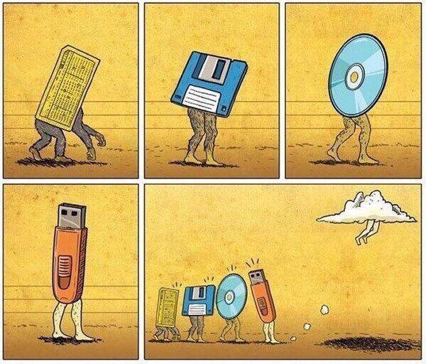 Эволюция хранения данных