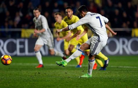 Роналду - лидер по количеству голов с пенальти в Ла Лиге