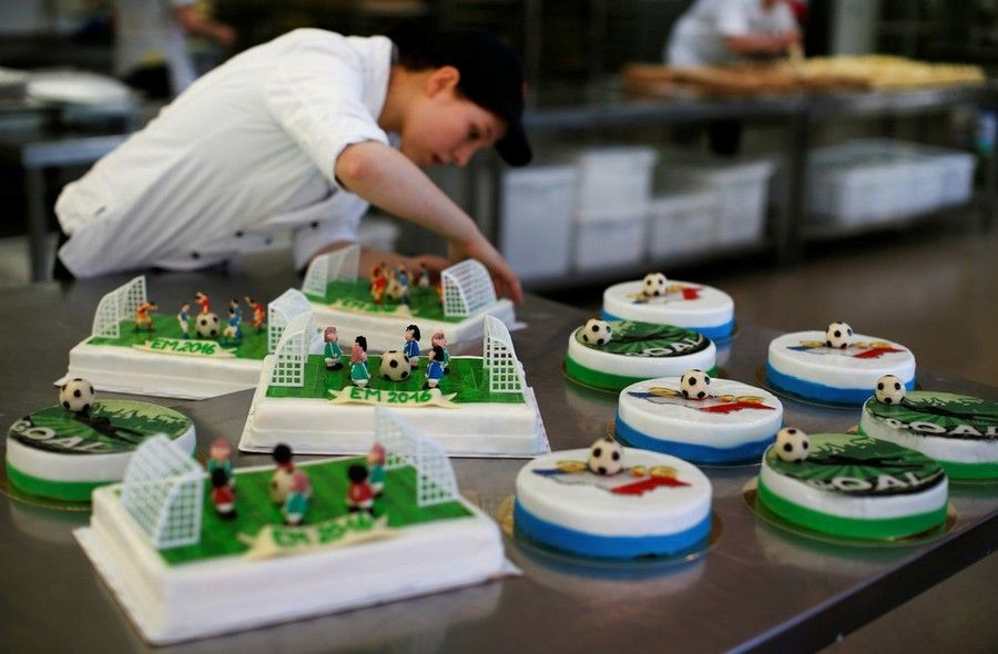 Футбольные тортики