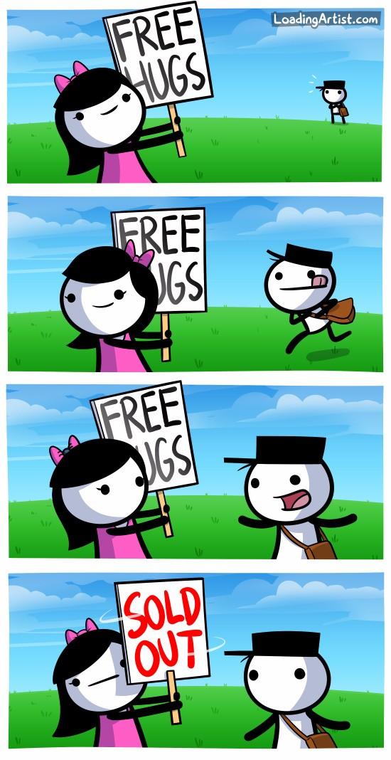 Бесплатные обнимашки