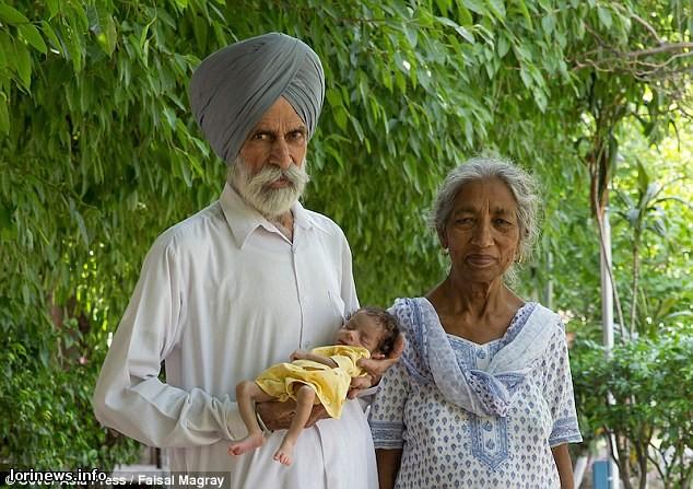 Հնդկաստանում կինը մայրացել է 72 տարեկան հասակում.(ֆոտո)