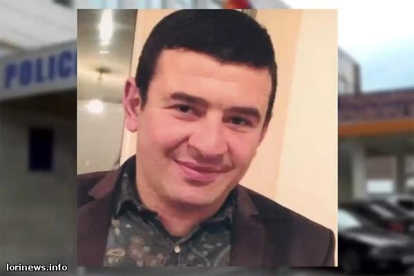 Ոստիկանությունը ութ ամիս անց հայտնաբերել է վանաձորցի գործարարի սպանության մեջ մեղադրվողին
