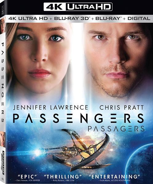 Пассажиры / Passengers (2016) BDRip 720p